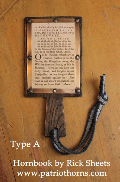 Hornbook Type A