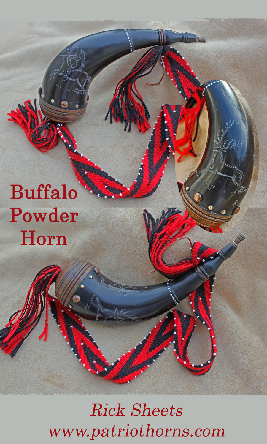 Rick-Sheets-Buffalo-Powder-Horn